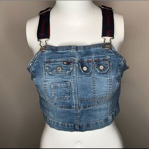 Vtg Tommy Cropped Top